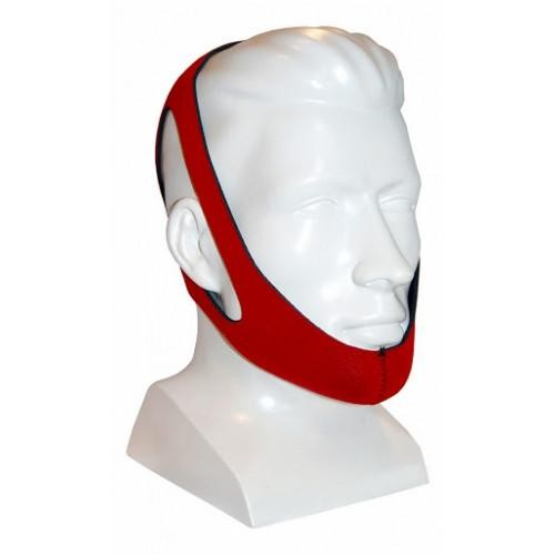 CareFusion Puresom Ruby Chin Strap, Red