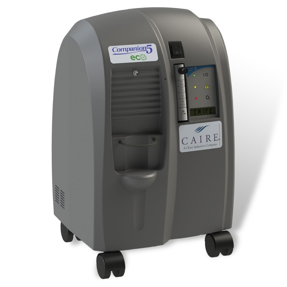 Caire Companion 5L Stationary Oxygen Concentrator