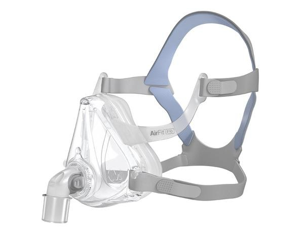 ResMed AirFit F10 Full Face CPAP Mask & Headgear