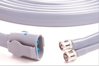 GE Healthcare Adult-Pediatric, Gray Shroud to Screw Connector Air Hose