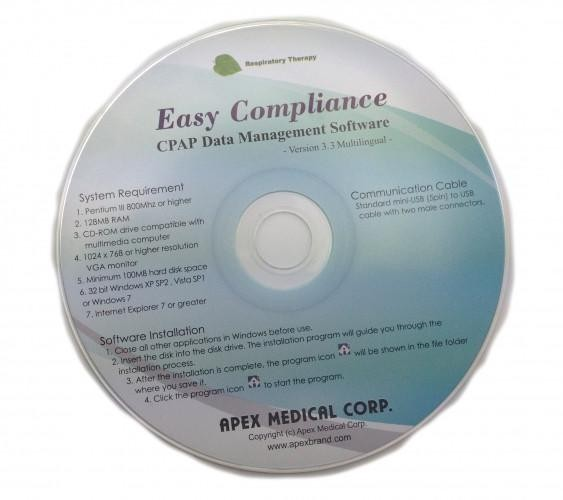 Apex Medical Easy Compliance CPAP Data Management Software Ver 3.3