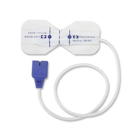 Medtronic Covidien Nellcor OxiMax MAX-AR Adult Sensor, Factory Remanufactured (> 30 kg), 1/EA