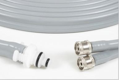 GE Healthcare Adult-Pediatric, Round Connector to Screw Connector Air Hose