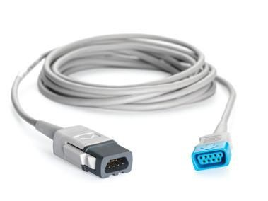 GE Healthcare TruSignal Interconnect Cable with TruSat to Universal Connector, 10 Ft
