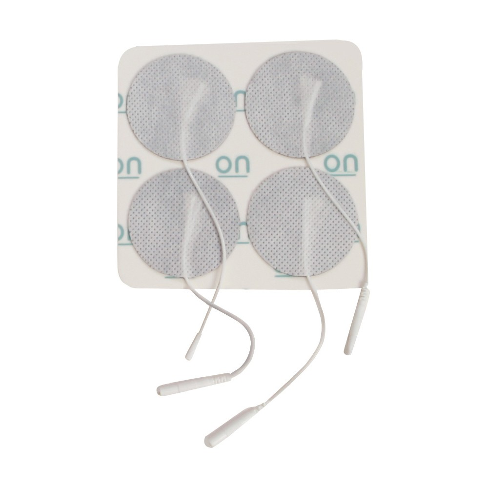 """Drive DeVilbiss Round Pre Gelled Electrodes for TENS Unit, 1.75"""""""