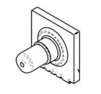 Honeywell Board Mount Pressure Transducer, 1/Pack