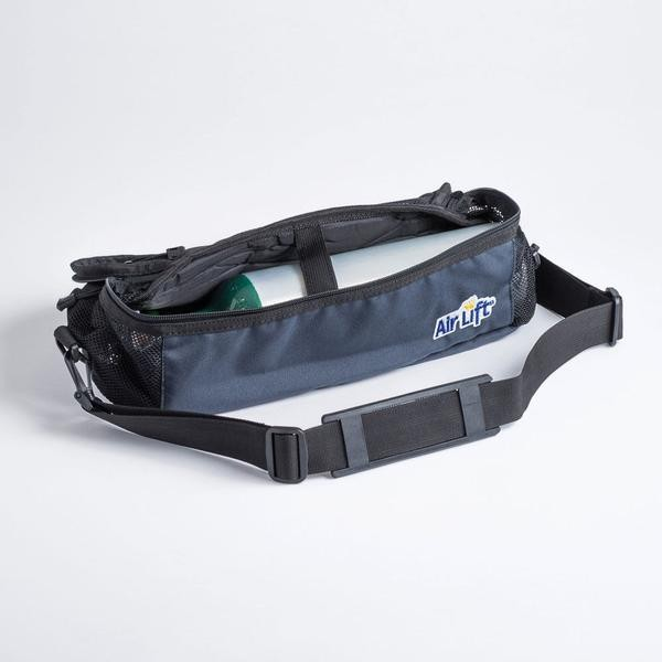 Air Lift Oxygen M6, C/M9 or B Cylinder Camera-Style Shoulder Carrier
