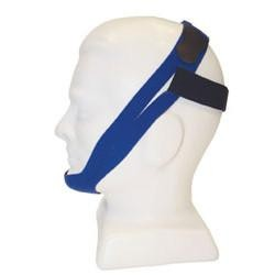 CareFusion PureSom Premier Chinstrap, Blue