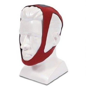 CareFusion PureSom Ruby Adjustable Chin Strap, Red