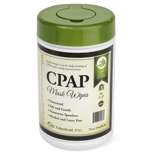3B Medical Aloe CPAP Mask Wipes 72 ct