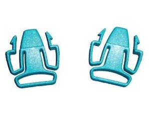 ResMed Mirage Quattro/Mirage Ultra Mirage/Miarge Activa Headgear Clips, 2/Pack