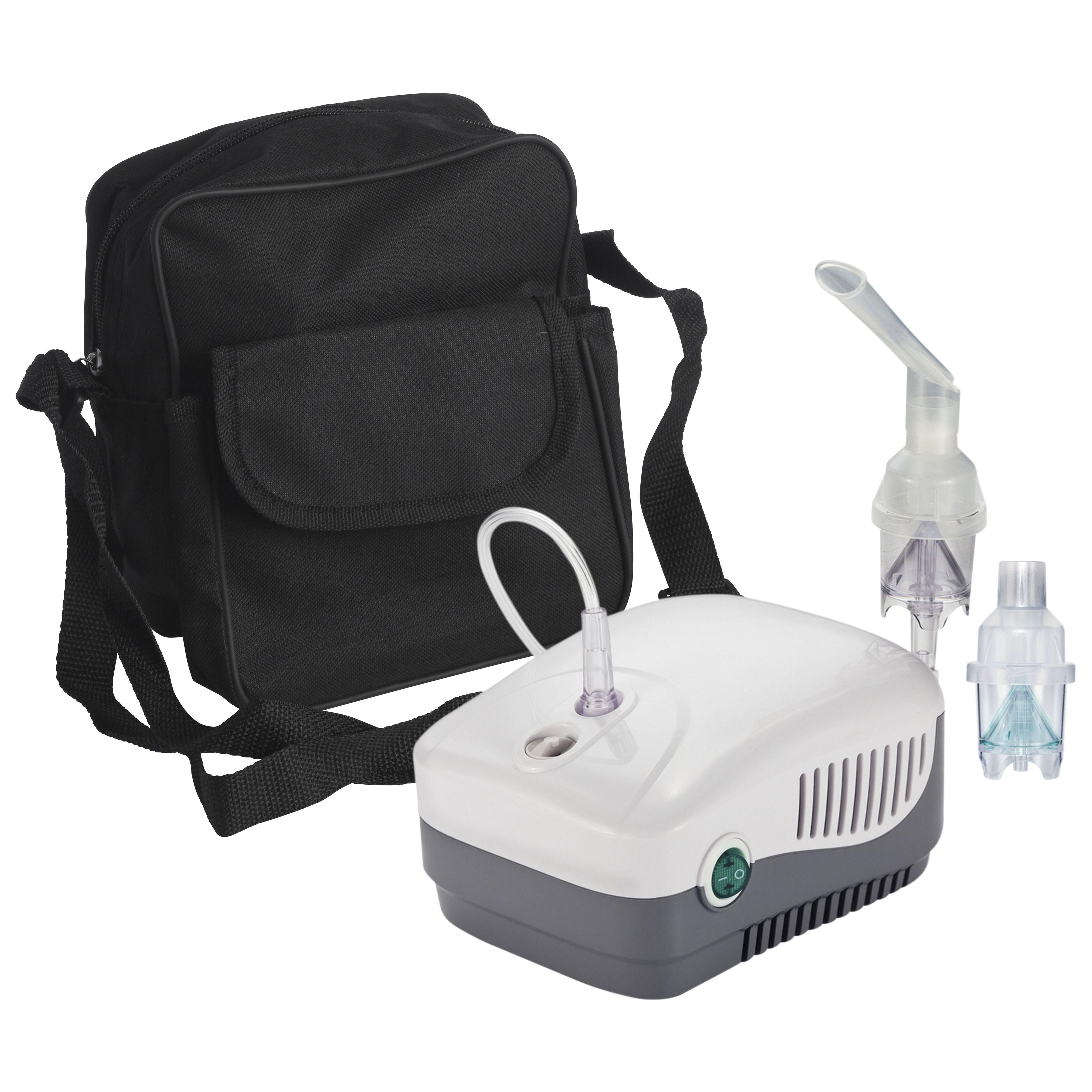 Drive DeVilbiss Healthcare MedNeb Plus Compressor Nebulizer with Carry Bag and Disposable and Reusable Neb Kits
