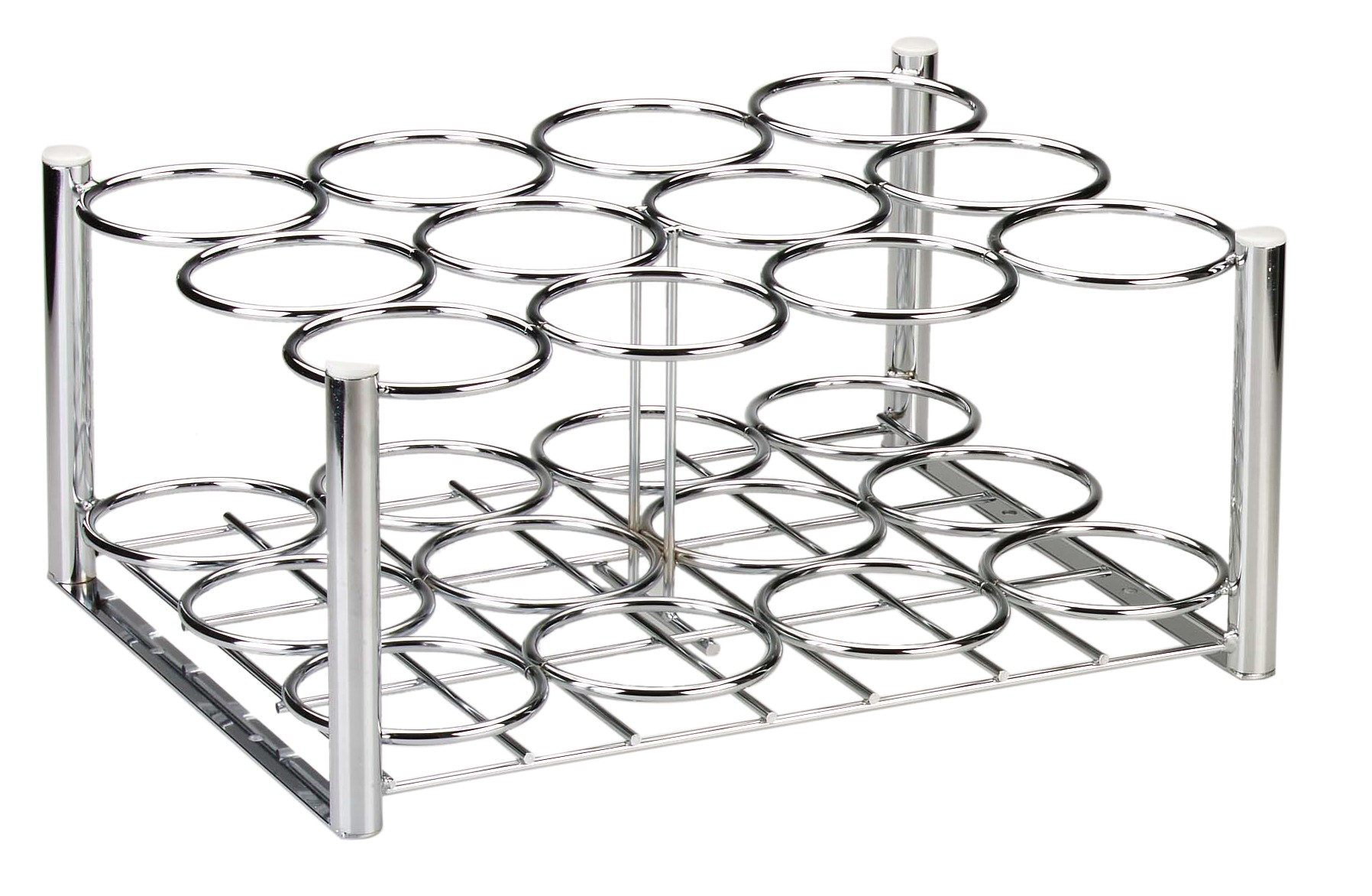 Drive DeVilbiss Healthcare Steel Oxygen Cylinder Rack, M6 Cylinders Only, 12 Cylinders