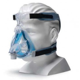 Philips Respironics ComfortGel Blue Full Face CPAP Mask & Headgear