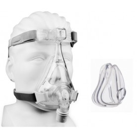 Philips Respironics Amara DuoPack Full Face CPAP Mask with Headgear & Two Cushions