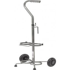 Drive DeVilbiss Dual Oxygen Cart, 2/Pack