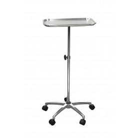 """Drive DeVilbiss Healthcare Mayo Instrument Stand with Mobile 5"""" Caster Base"""