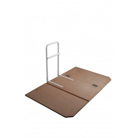 Drive DeVilbiss Healthcare Home Bed Assist Grab Rail with Bed Board