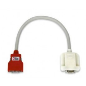 Masimo LNCS Series 14-Pin to 20-Pin Red SpO2 Mountable Adapter Cable, 18 in