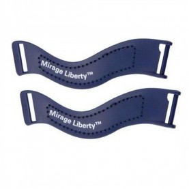 ResMed Mirage Liberty Upper Headgear Clip - Blue
