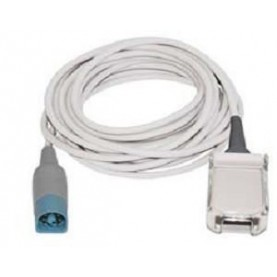 Masimo LNCS Series to IntelliVue Masimo SET or IntelliVue Philips FAST-SpO2 LNC MP10 Adapter Cable, 10 Ft (3 m)