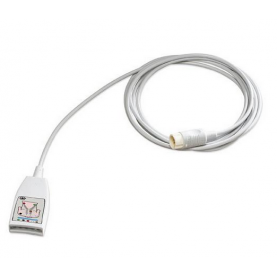 Philips 5-Lead ECG Trunk Cable, 9 Ft