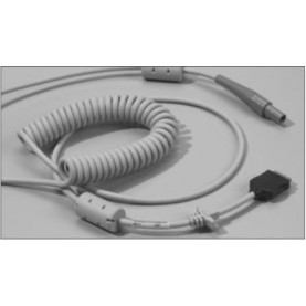 GE Healthcare CAM Cable Assembly CAM Coiled Patient Cable, 14 Ft