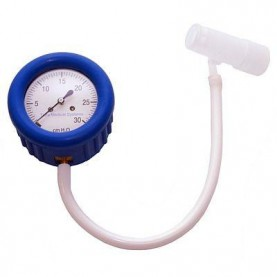 AG Industries Dial Manometer Kit With 22 mm Adapter