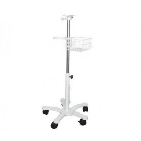 Masimo Medium Duty Roll Stand with Handle & Basket