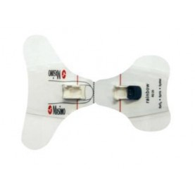 Masimo Rainbow ReSposable (10) R2-20a Pediatric/Slender Digit Disposable Sensors, (2) R2-20r Reusable Sensors (SpHb, SpMet, SpO2)