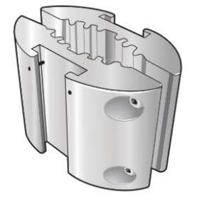 Fisher & Paykel Mounting Bracket - Pole Clamp 15-50mm