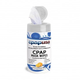 CPAPUSA.com CPAP Mask Wipes - Citrus Scented - One Canister