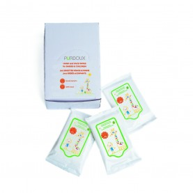 Choice One Medical PÜRDOUX Hand & Face Wipes for Babies & Children