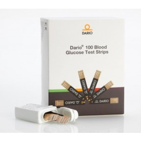 Dario 100 Blood Glucose Test Strips