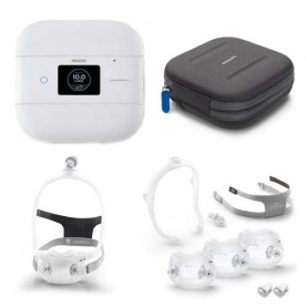 Philips Respironics DreamStation Go Auto and DreamWear Full Face FitPack Bundle