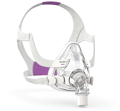 ResMed AirFit F20 for Her Full Face CPAP Mask & Headgear